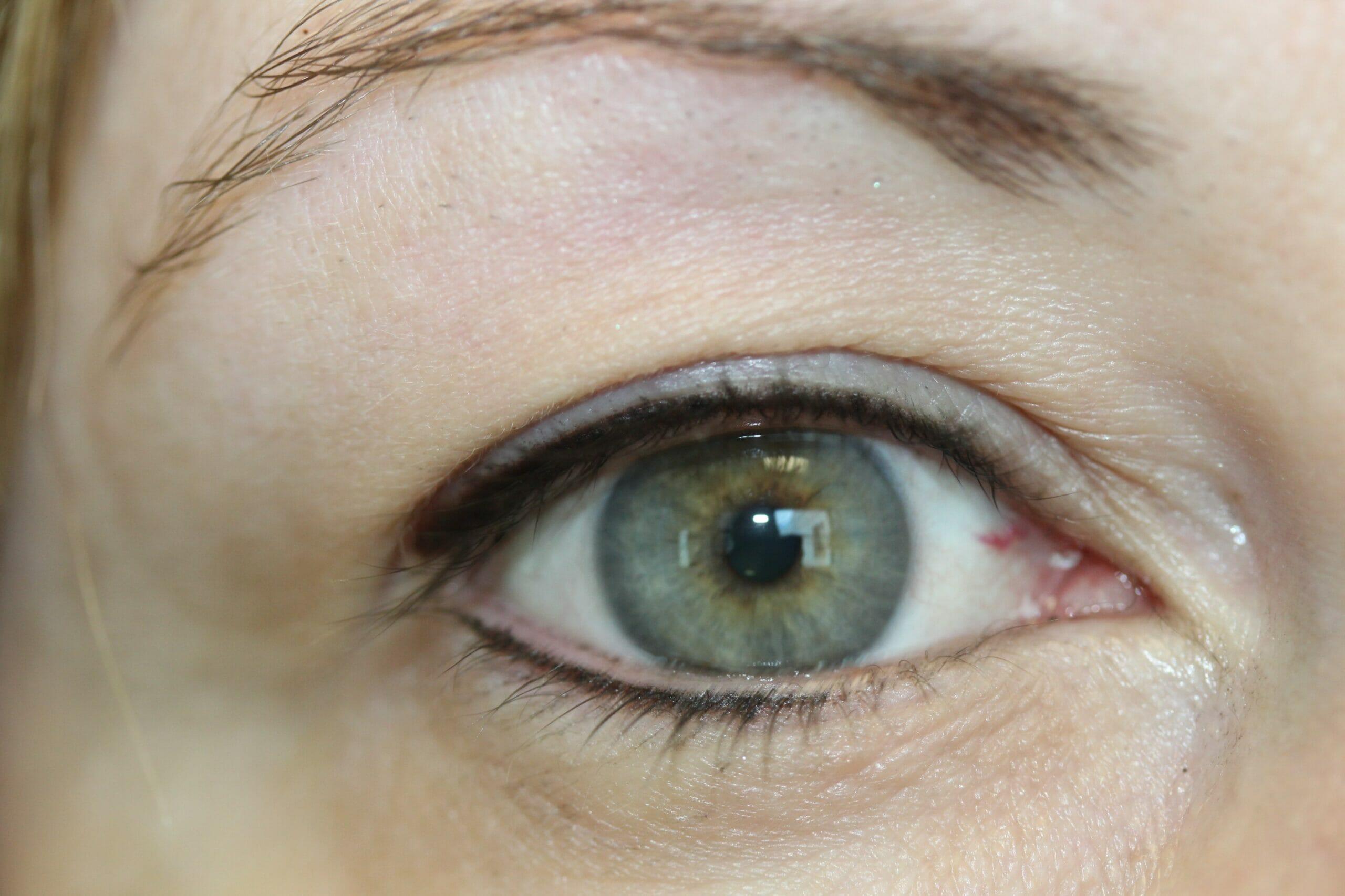 After Permanent Eyeliner