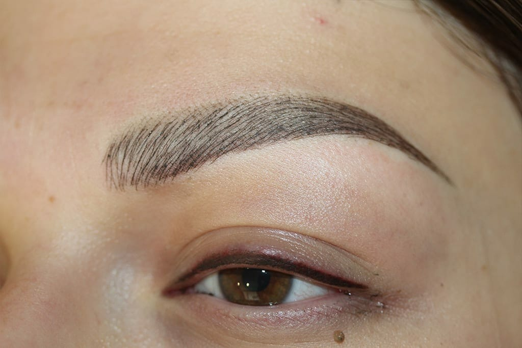 After Treatment Eyebrows Photo
