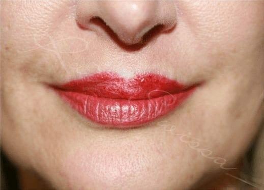After Treatment Permanent Lip Liner Color