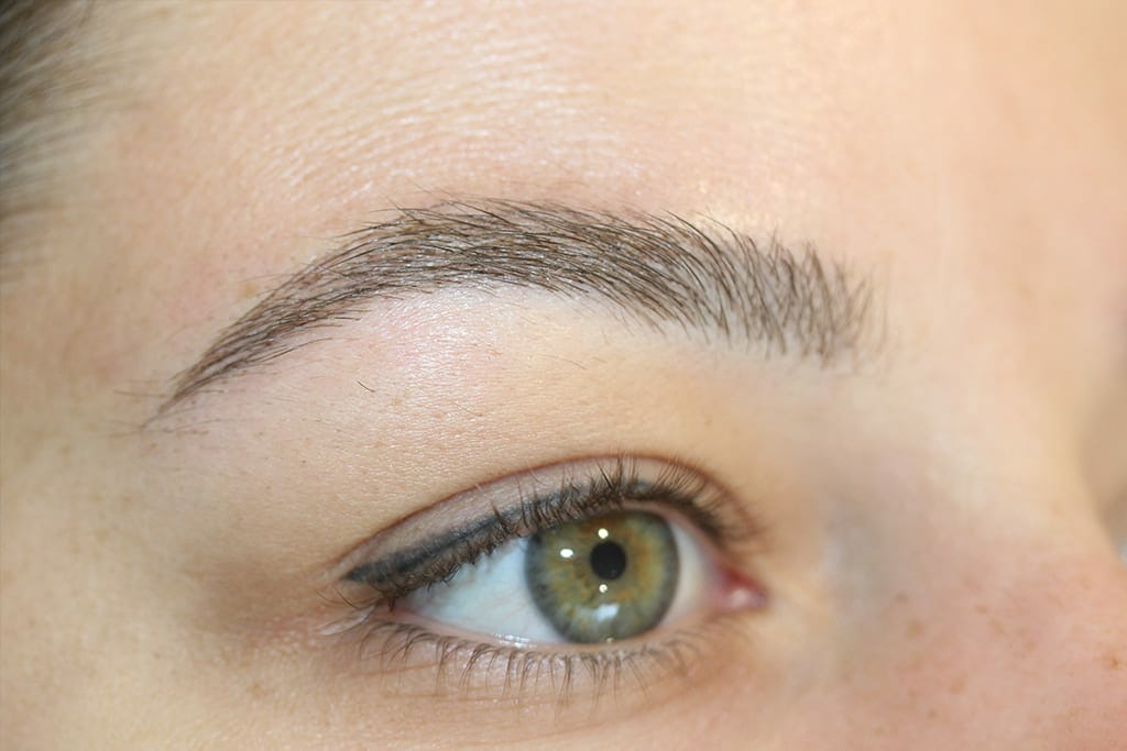 Permanent Eyebrows Picture