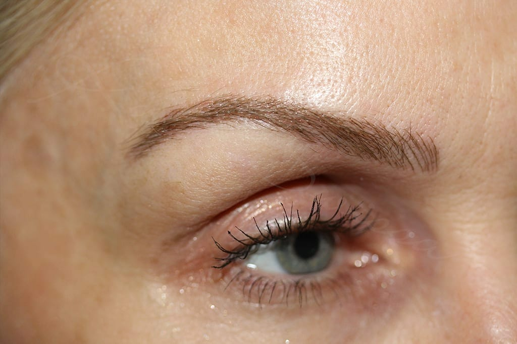 Eyebrows After Picture